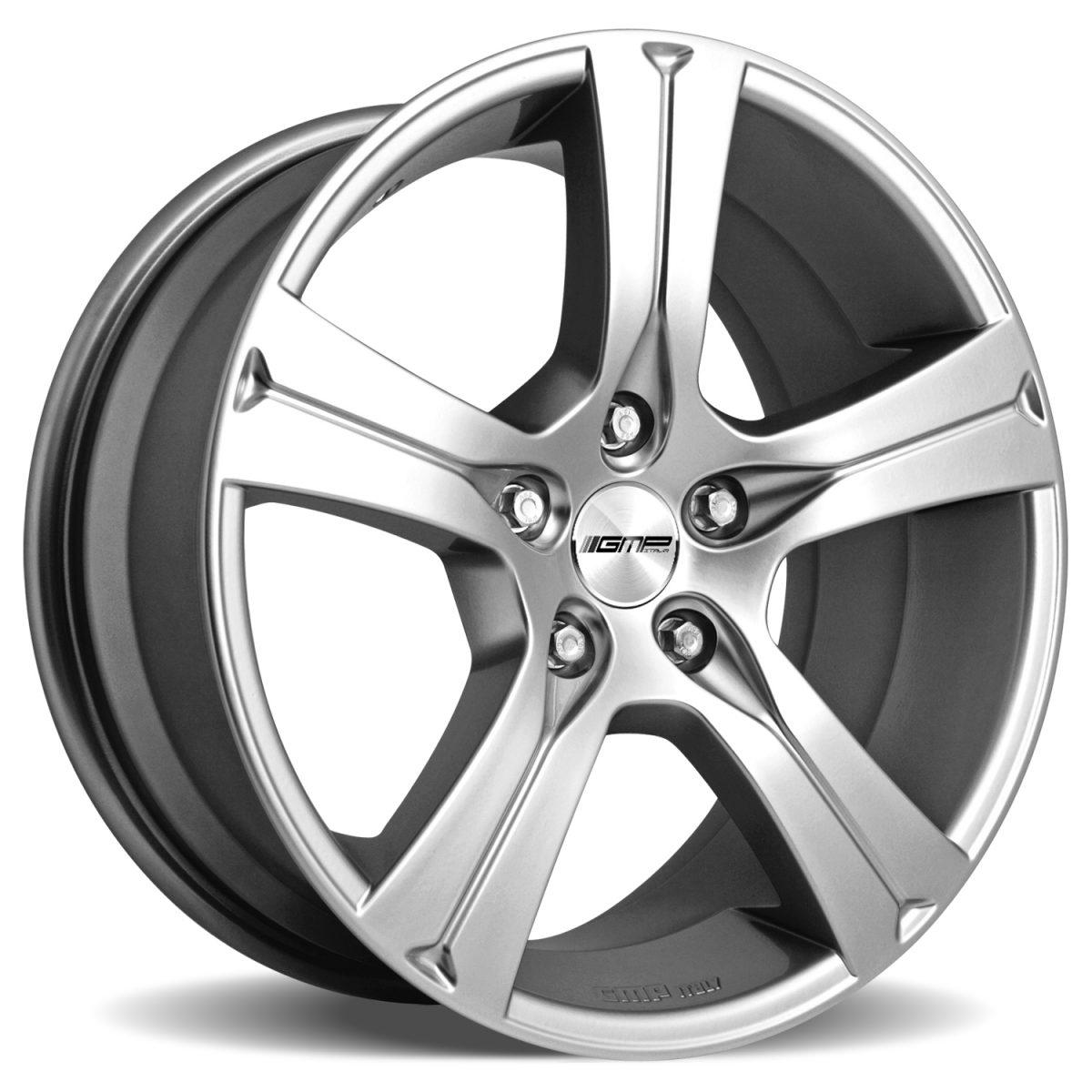 GMP Italy Buran Silver 7/7,5/8x17 alufelni 1