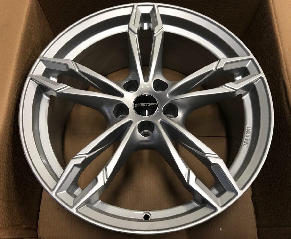 GMP Italy DEA Silver - Dedicated to BMW 8,0/9,0X18 alufelni 1