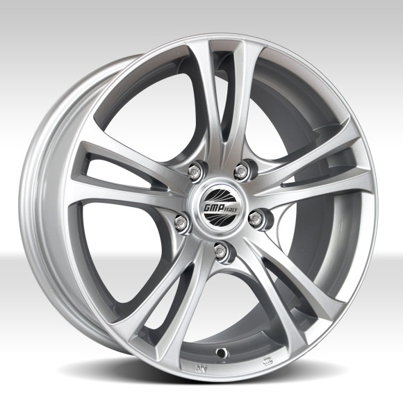 GMP Italy Easy-R Silver 6X15 alufelni 1