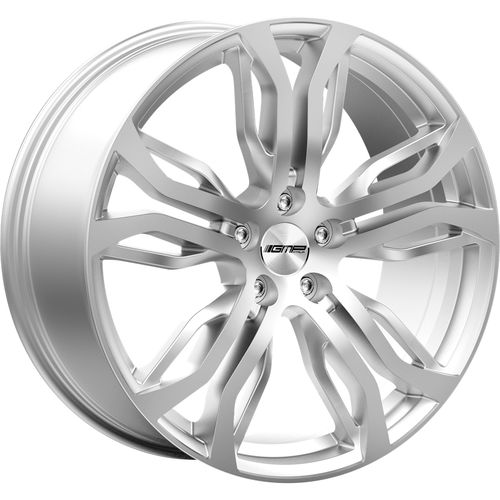 GMP Italy DYNAMIK Silver - Dedicated to Range-Rover & BMW SUV 9,5-10-11,5X22 alufelni 1