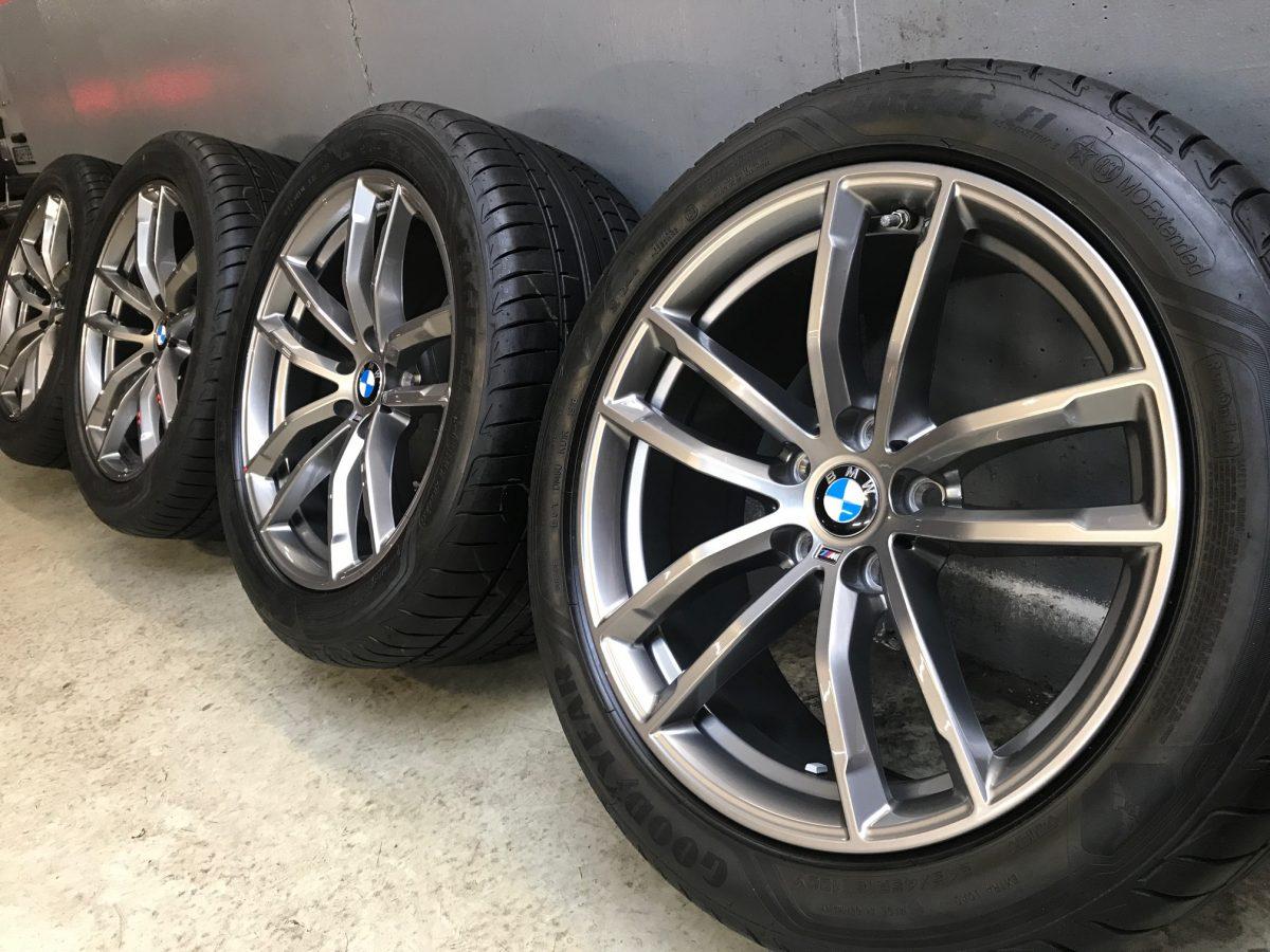 Gyári alufelni BMW G30 (662M styl) 8X18 9X18 5x112 újszerű nyári garnitúra! Goodyear gumikkal 2