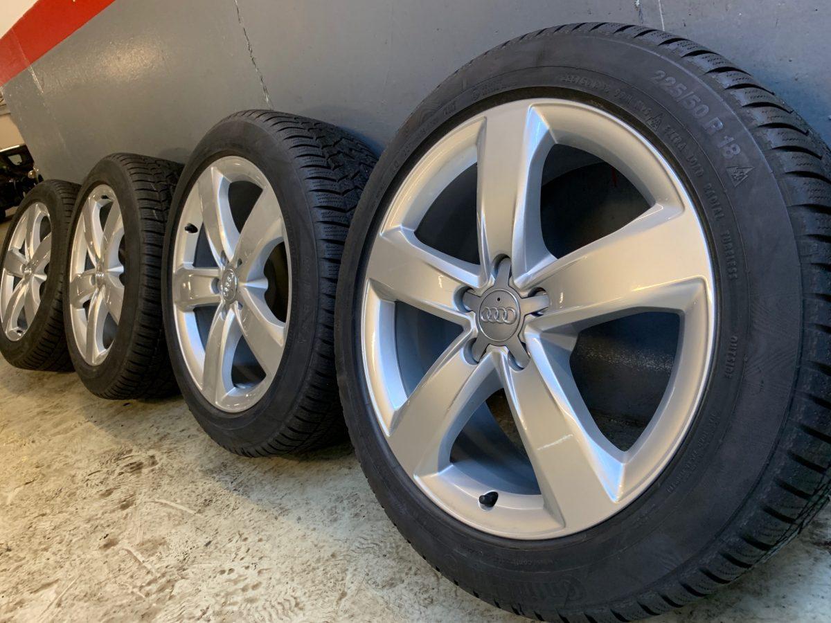 Gyári alufelni AUDI A6 7,5X18 alufelni új téli garnitúra! Continental gumikkal 1