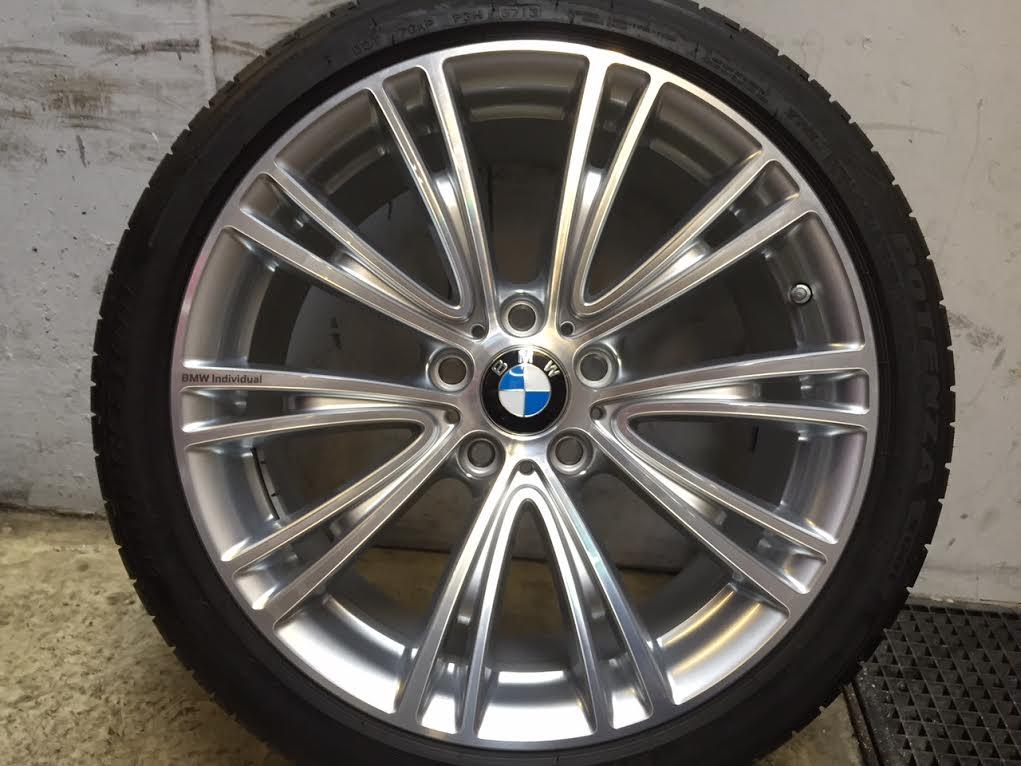 Gyári alufelni BMW F30-F32 (624 Styl ) 8X19 ET36 8,5X19 ET47 alufelni Új nyári garnitúra nyomásszenzorral 1