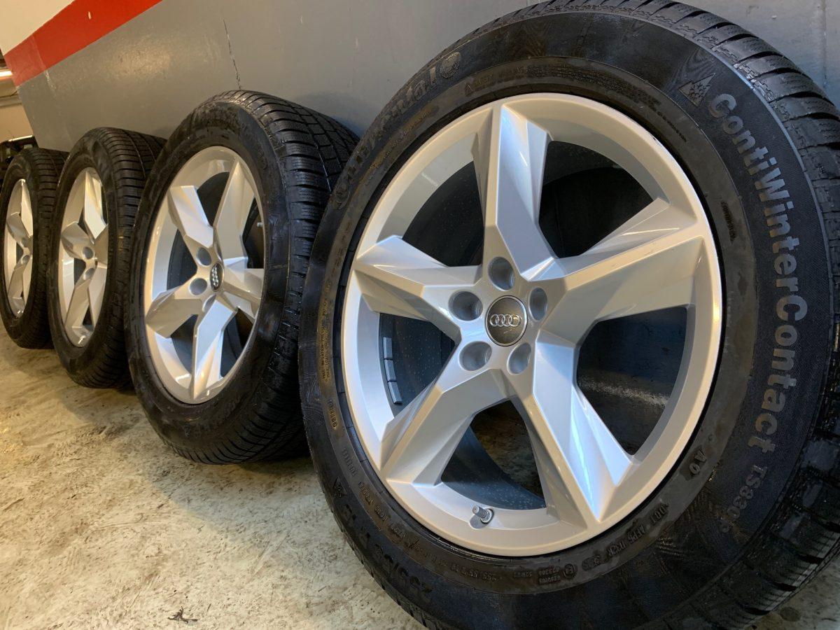 Gyári alufelni AUDI Q7 8x19 ET28 alufelni új téli garnitúra! Continental gumikkal 1