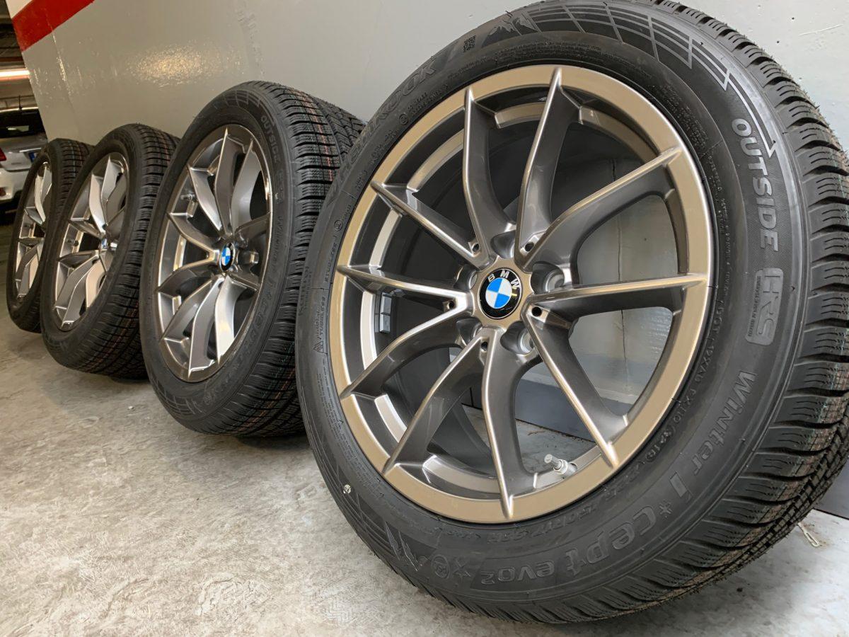 Gyári alufelni BMW G20 (778styl) 7,5X17 ET30 alufelni új téligarnitúra! Hankook defekttűrő gumikkal 1