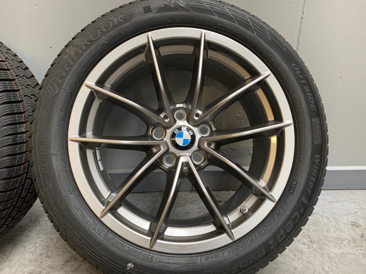 Gyári alufelni BMW G20 (778styl) 7,5X17 ET30 alufelni új téligarnitúra! Hankook defekttűrő gumikkal 2
