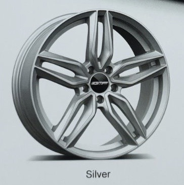 GMP Italy Fasten Silver - Dedicated to Mercedes-Benz 8,5/9,5X20 alufelni 1