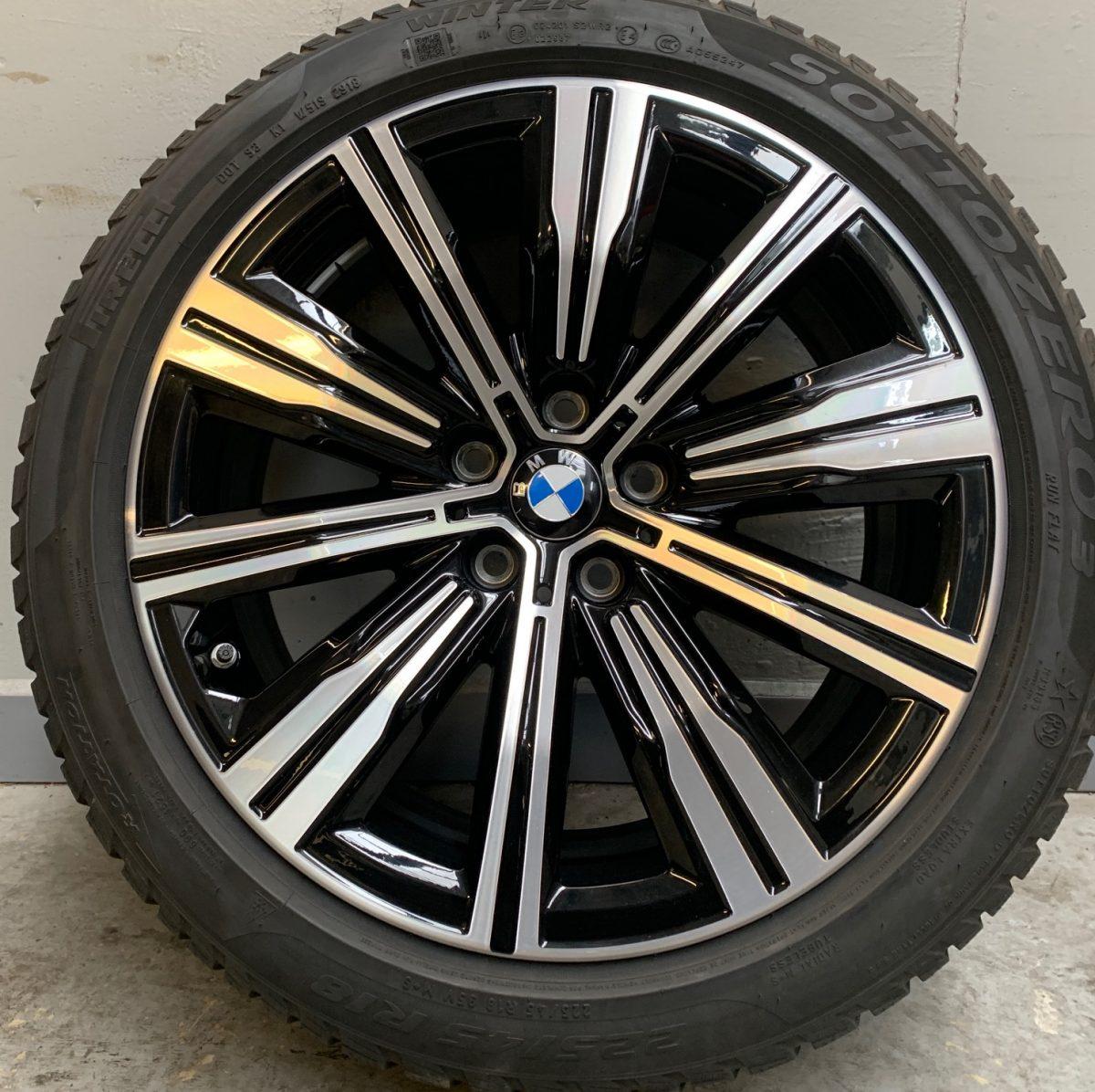 Gyári alufelni BMW G20 (782 styl) 7,5X18 alufelni újszerű téli garnitúra! Pirelli gumikkal,nyomásszenzorral! 1