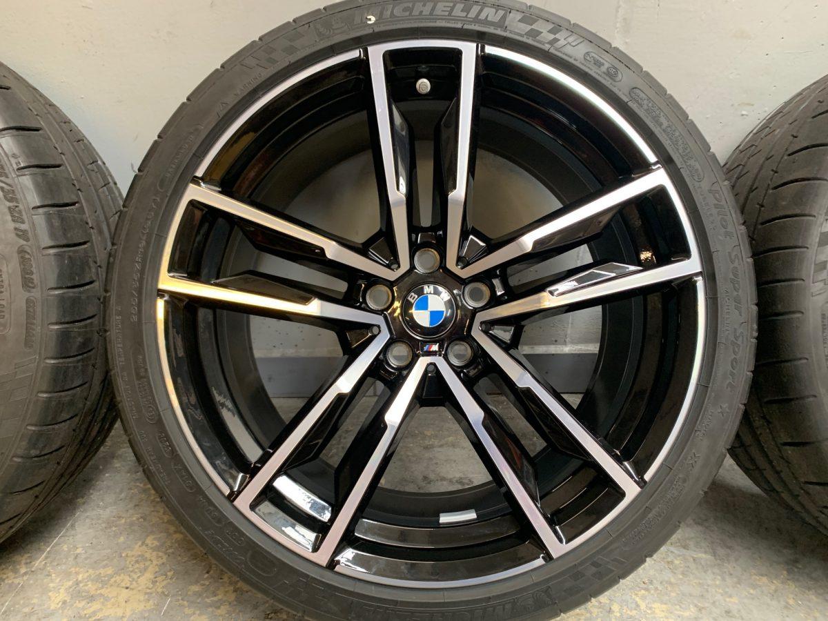 Gyári alufelni BMW G30-G15-G29 (799M styl) 9X19 10X19 5x112 alufelni újszerű nyári garnitúra! Michelin gumikkal 2