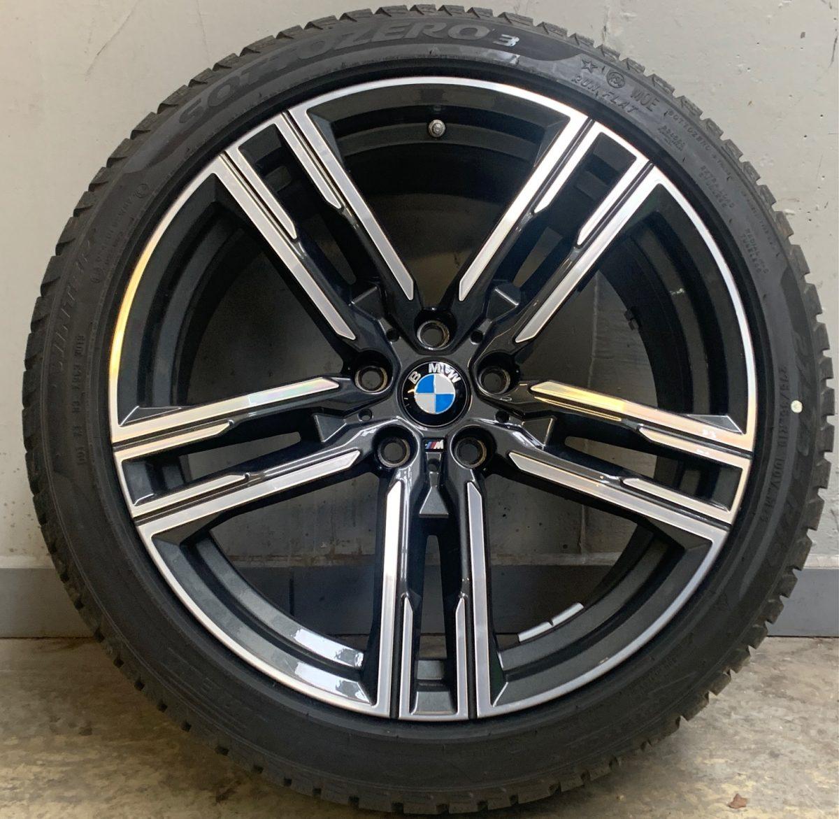 Gyári alufelni BMW 3 G30-G15 (727M Style) 8X19 9x19 új télikerék-garnitúra! kétszéles Pirelli gumikkal,nyomásszenzorral 1