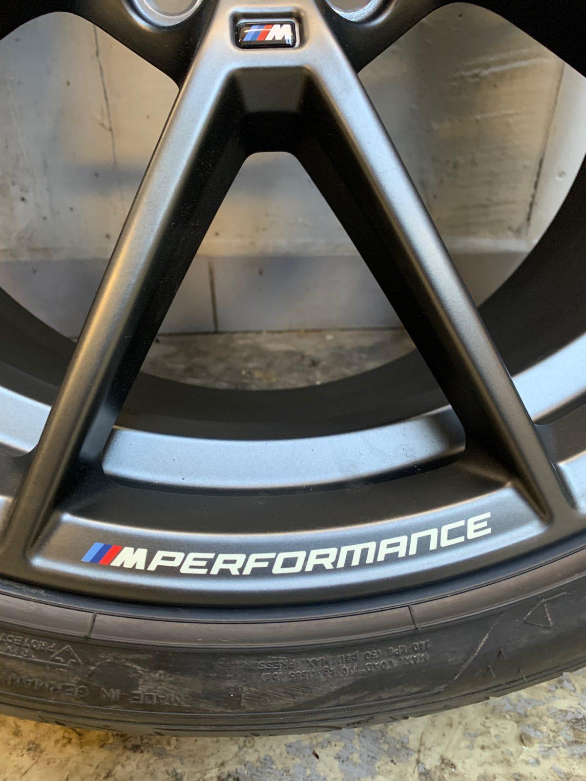 Gyári alufelni BMW 3 G20 (898M Performance) 8X19 8,5x19 új nyári garnitúra! Goodyear gumikkal,nyomásszenzorral 3