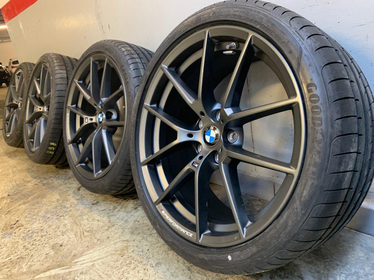 Gyári alufelni BMW 3 G20 (898M Performance) 8X19 8,5x19 új nyári garnitúra! Goodyear gumikkal,nyomásszenzorral 1
