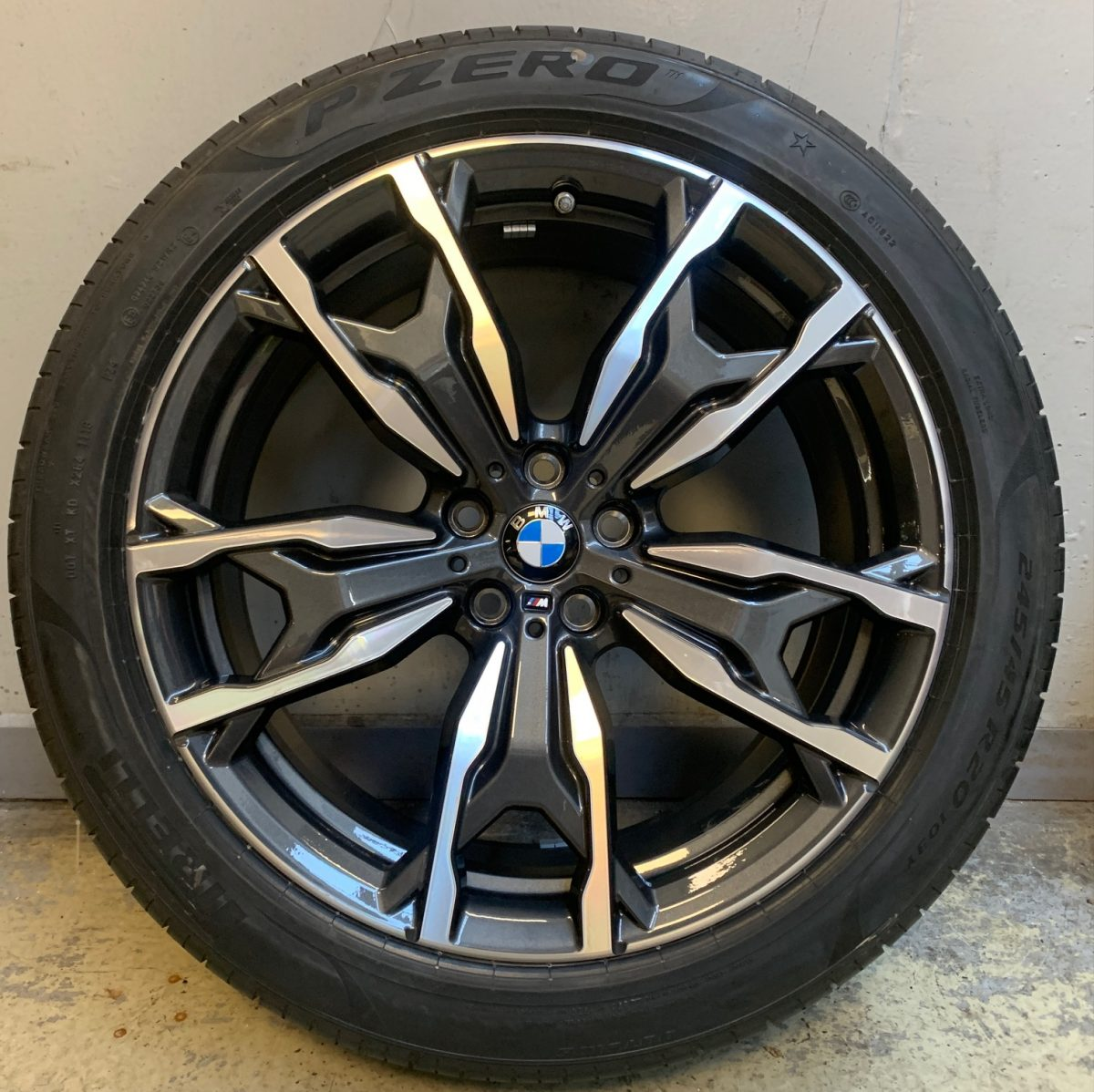 Gyári alufelni BMW X3-X4 G01-G02 (787M style) 5x112 új nyári garnitúra! Pirelli gumikkal,nyomásszenzorral 1