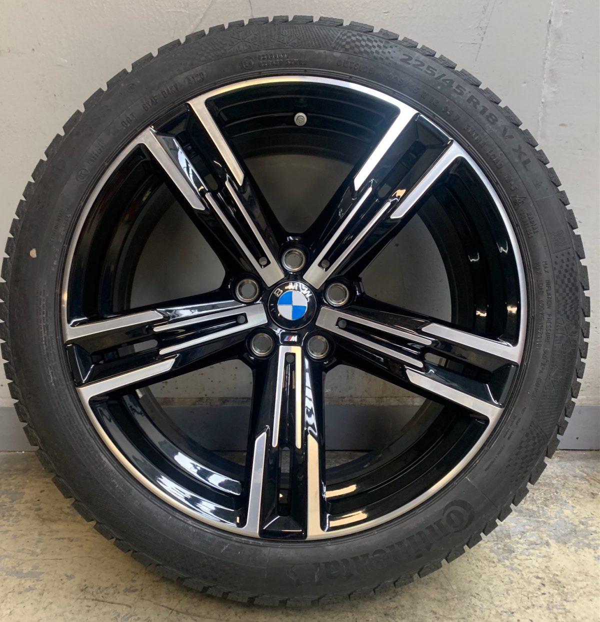 BMW G20-G21 (848M style) 7,5X18 8,5X18 5x112 új kétszéles télikerék garnitúra! Bridgestone gumikkal 1