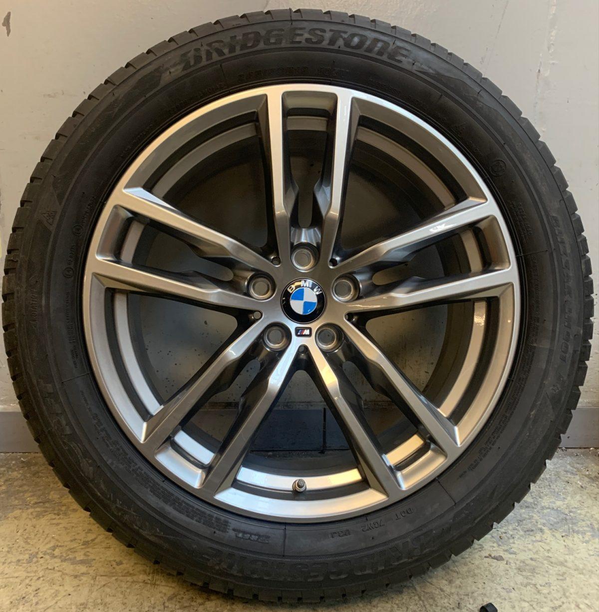 BMW X3-X4 G01-G02 (698M Style) 7,5X19 5X112 új téligarnitúra! Bridgestone gumikkal,nyomásszenzorral 1